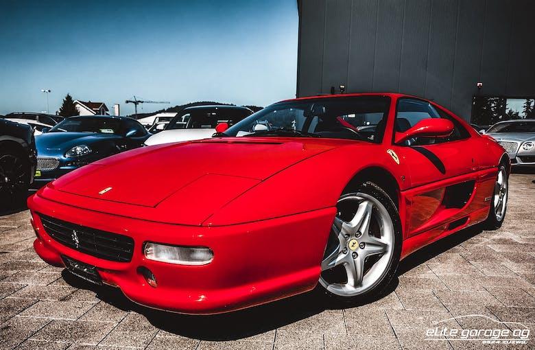 Ferrari F 355 F355 GTS 33'800 km CHF99'800 - acheter sur carforyou.ch - 1
