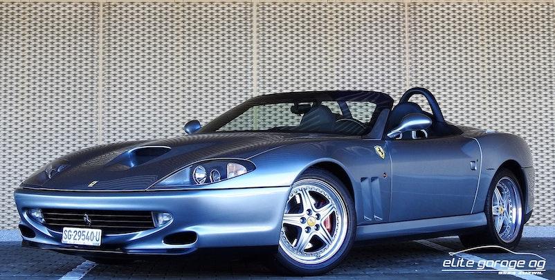 Ferrari 550 F550 BARCHETTA 27'100 km 478'000 CHF - buy on carforyou.ch - 1
