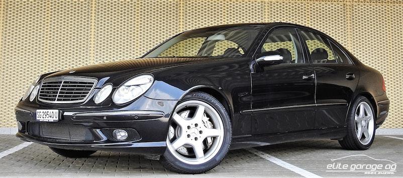 Mercedes-Benz E-Klasse E 55 AMG Avantgarde 55'000 km CHF34'800 - acquistare su carforyou.ch - 1