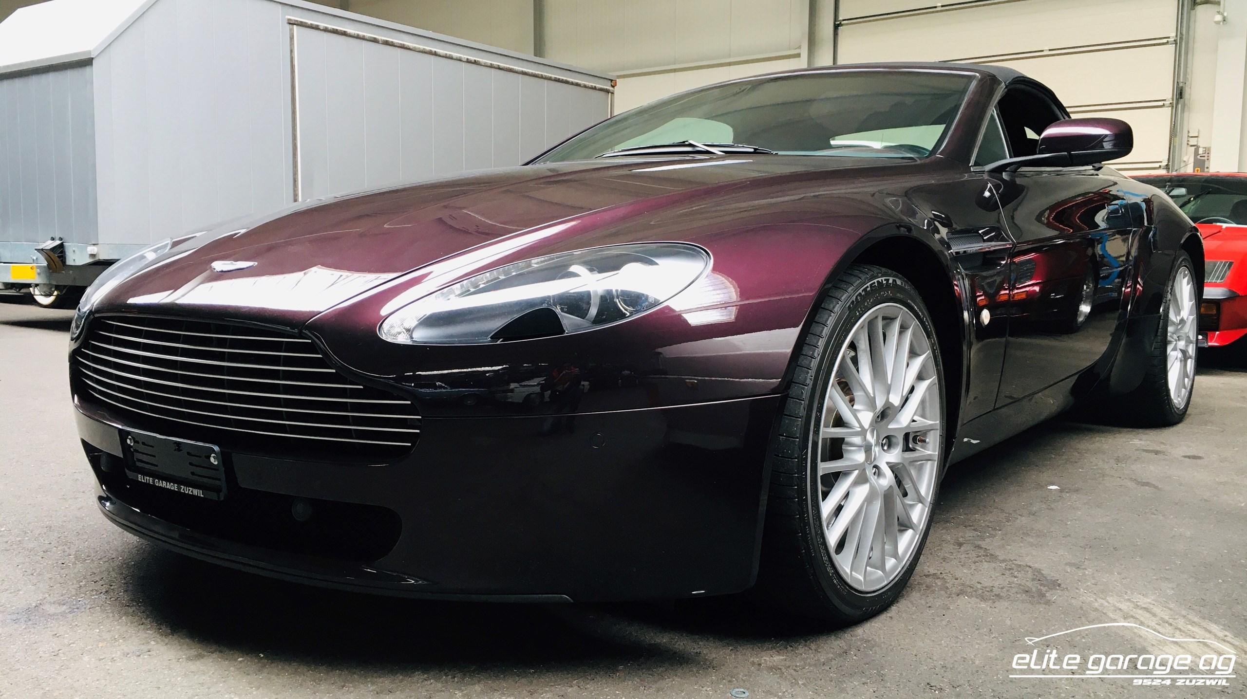 Gebraucht Cabriolet Aston Martin V8 V12 Vantage V8 Vantage R 4 7 Sportshift 78000 Km Für 59800 Chf Kaufen Auf Carforyou Ch
