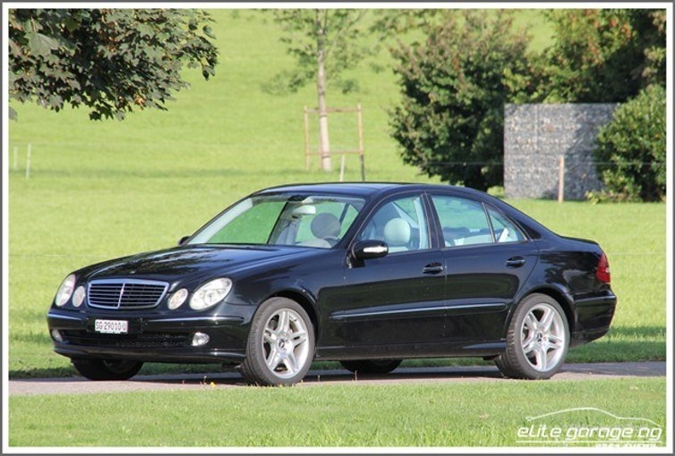 Mercedes-Benz E-Klasse E 500 Avantgarde 29'500 km CHF19'800 - buy on carforyou.ch - 1