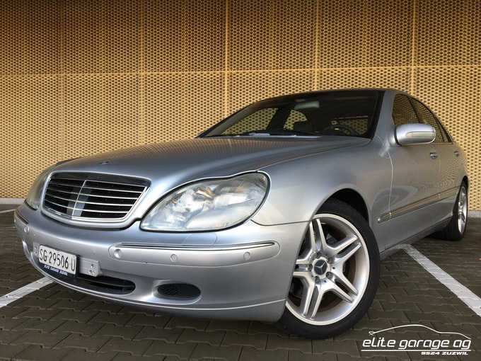 Mercedes-Benz S-Klasse S 500 51'000 km CHF12'800 - kaufen auf carforyou.ch - 1