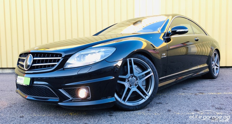 coupe Mercedes-Benz CL 65 AMG Automatic