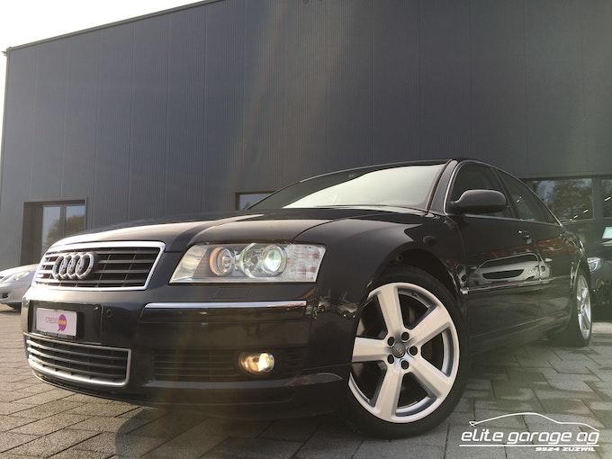 Audi A8 4.2 quattro 60'000 km CHF19'800 - buy on carforyou.ch - 1