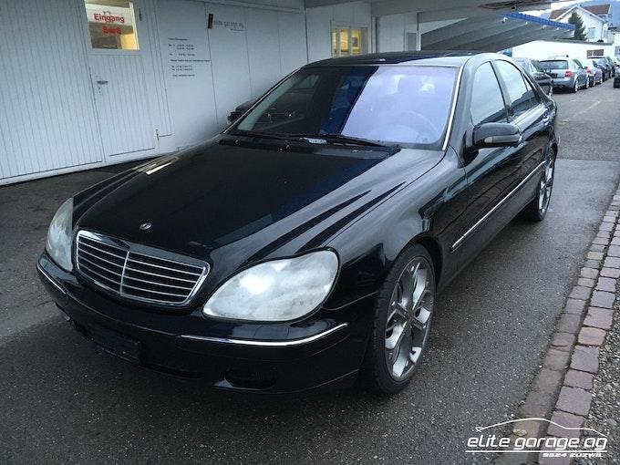 Mercedes-Benz S-Klasse S 55 AMG 96'500 km CHF16'800 - acquistare su carforyou.ch - 1