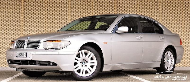 BMW 7er 745i 27'600 km CHF19'800 - kaufen auf carforyou.ch - 1