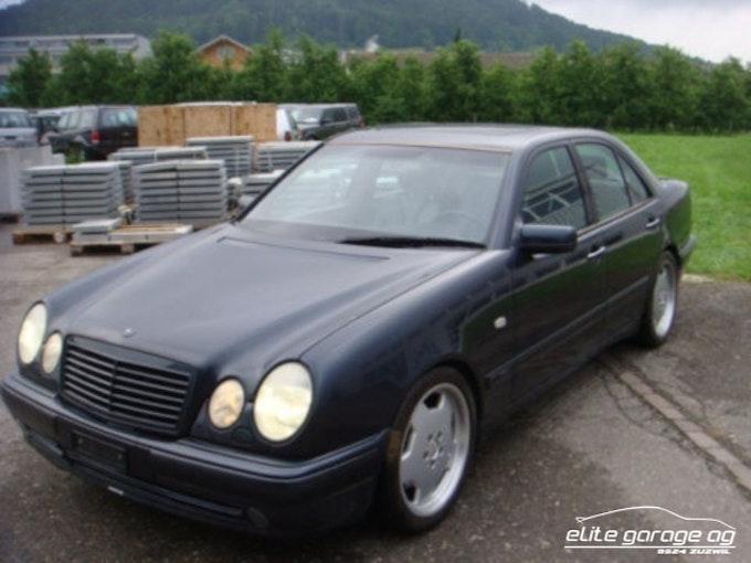 Mercedes-Benz E-Klasse E 50 AMG Avantgarde 35'600 km CHF16'800 - buy on carforyou.ch - 1