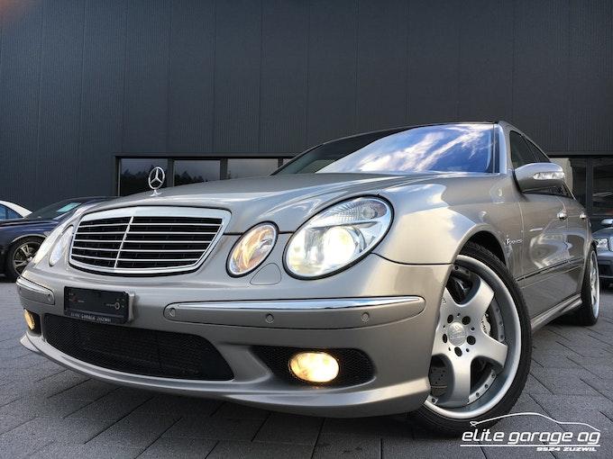 Mercedes-Benz E-Klasse E 55 AMG Avantgarde 52'400 km CHF29'800 - acheter sur carforyou.ch - 1