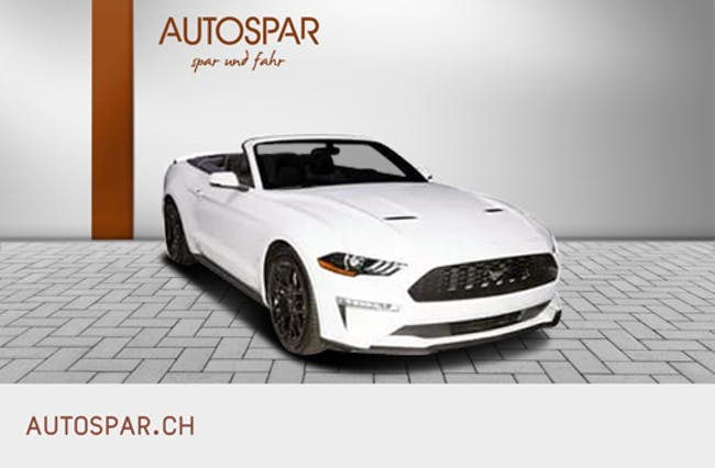 Ford Mustang Convertible 5.0 V8 GT 10 km CHF63'650 - buy on carforyou.ch - 1