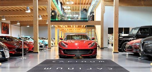 Ferrari 812 Superfast 1'560 km CHF365'000 - acquistare su carforyou.ch - 2