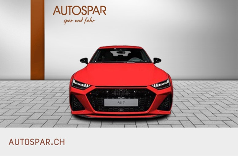 Audi RS7 4.0 V8 TFSI quattro T-Tronic 10 km CHF117'650 - acquistare su carforyou.ch - 1