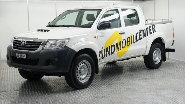 Toyota Hilux Double Cab.-Pick-up 2.5 D-4D Luna 35'439 km CHF31'700 - buy on carforyou.ch - 1