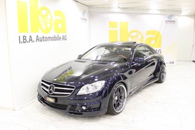 coupe Mercedes-Benz CL 500 4Matic