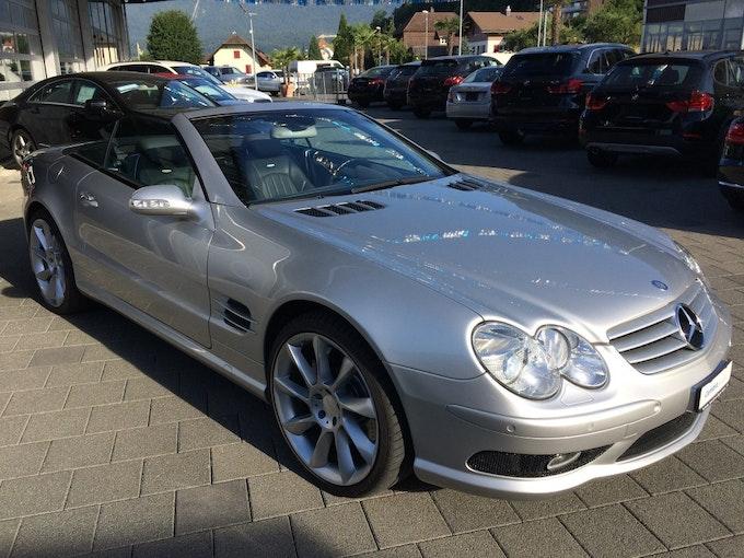 Mercedes-Benz SL 55 AMG Automatic 98'000 km 30'850 CHF - acheter sur carforyou.ch - 1