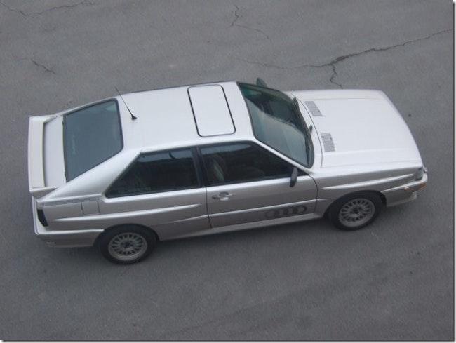 Audi QUATTRO Turbo 71'500 km 89'800 CHF - acquistare su carforyou.ch - 1