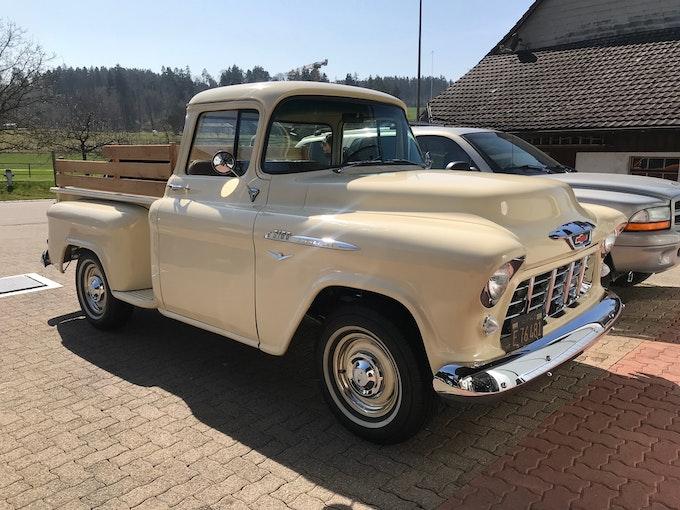 Chevrolet Task Force 1955 Task Force 3100 Step Side Pick Up 4.3V8 Automatik 57'500 km 79'995 CHF - acquistare su carforyou.ch - 1