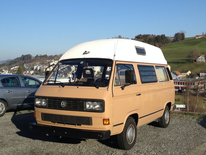 VW Typ 2 Bus Camper mit Hochdach T3 Typ2 170'000 km 24'990 CHF - acquistare su carforyou.ch - 1