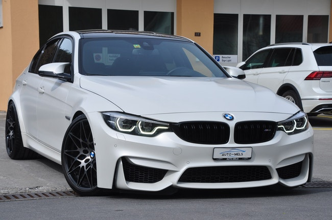 saloon BMW 3er M3 Competition Drivelogic **CH-FAHRZEUG**