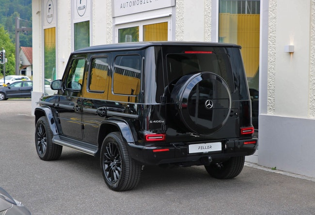 suv Mercedes-Benz G-Klasse G 400 d Stronger Than Time Edition 9G-Tronic