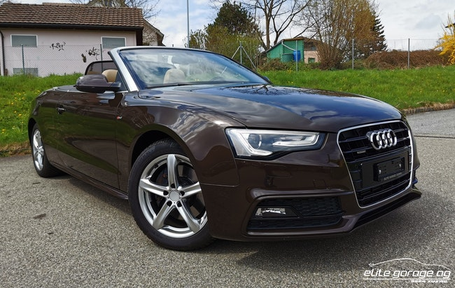 cabriolet Audi A5 Cabriolet 2.0 TFSI quattro S-tronic