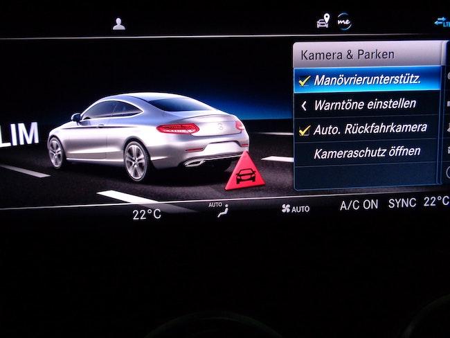 coupe Mercedes-Benz C-Klasse C 300 Coupé 4Matic AMG Line 9G-tronic