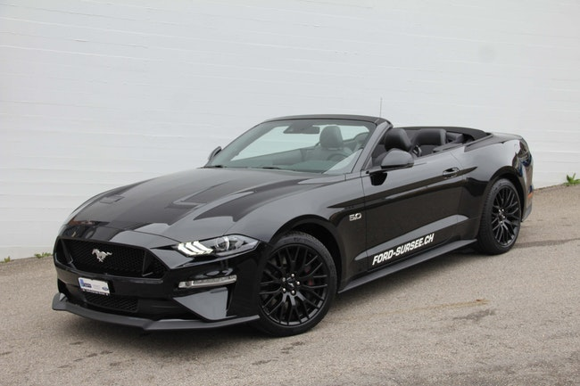 cabriolet Ford Mustang Convertible 5.0i-V8 GT