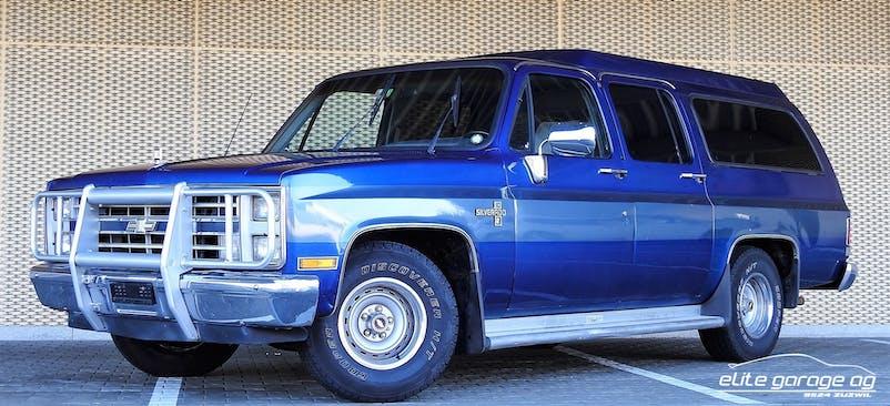 Chevrolet Suburban - SILVERADO10 3'000 km CHF16'800 - acheter sur carforyou.ch - 1