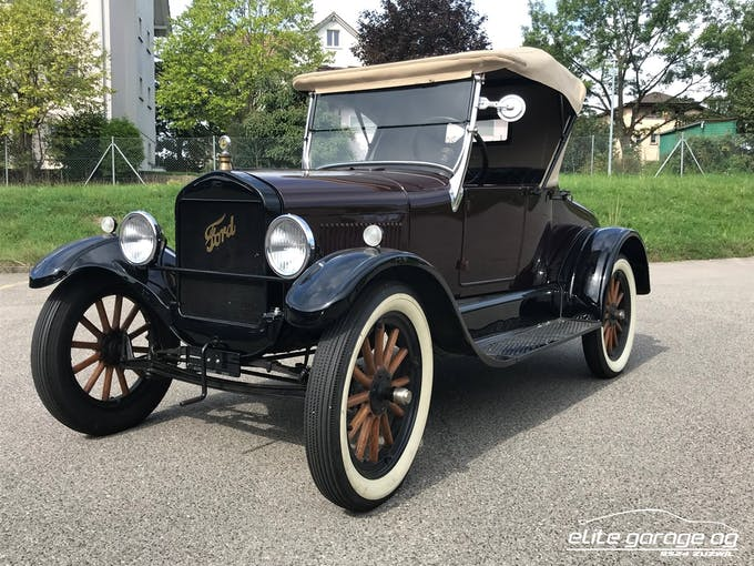 Ford Model T T - Roadster 2'000 km CHF49'800 - acheter sur carforyou.ch - 1