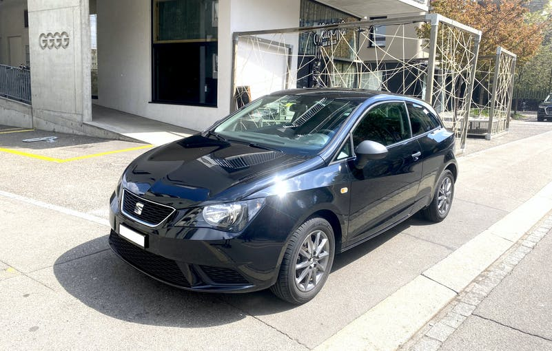 SEAT Ibiza 1.2 TSI - gepflegt, 8 Fach bereit, Klima, Navi 100'000 km CHF5'400 - buy on carforyou.ch - 1