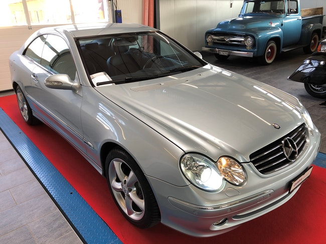 coupe Mercedes-Benz CLK 320 Avantgarde Automatic