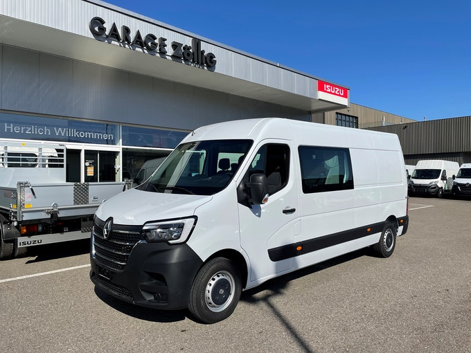 Renault Master T35 2.3 180PS L3H2 7PL 50 km CHF37'900 - buy on carforyou.ch - 1