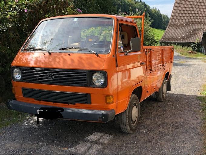 VW Typ 2 T3 pritsche 1.9 150'000 km 9'900 CHF - acquistare su carforyou.ch - 1