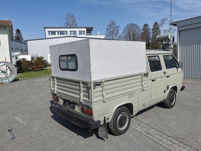 VW Typ 2 T3 Doka 2.1L - - inkl. Aufbau (Rohbau) 90'000 km 14'500 CHF - kaufen auf carforyou.ch - 1