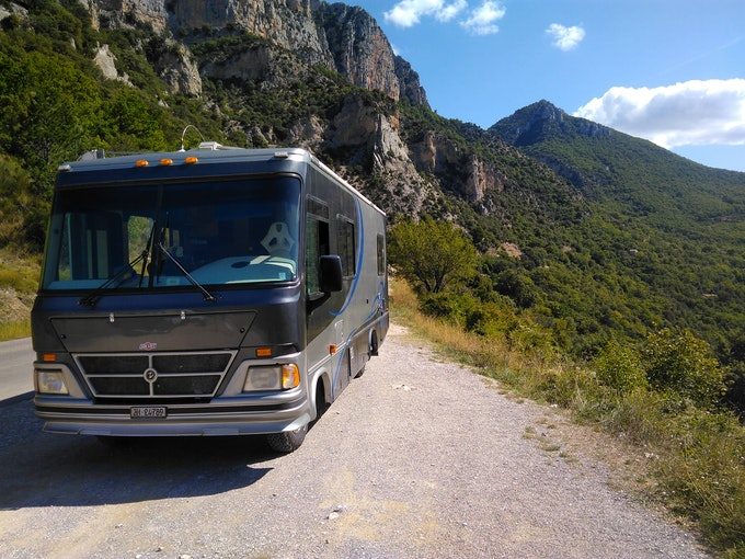 motorhome Chevrolet Advance Design