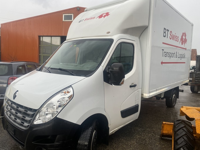 Renault Master DKab.-Ch. 3.5 t L2H1 2.3 dCi 150 430'524 km 5'800 CHF - buy on carforyou.ch - 1