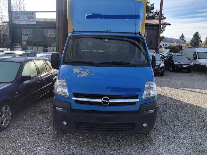 Opel Movano 2.5 CDTI 3.5t 196'543 km 5'000 CHF - buy on carforyou.ch - 1
