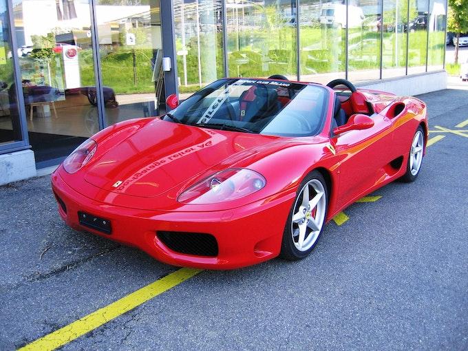 Ferrari 360 F360 Spider 65'400 km 94'500 CHF - buy on carforyou.ch - 1