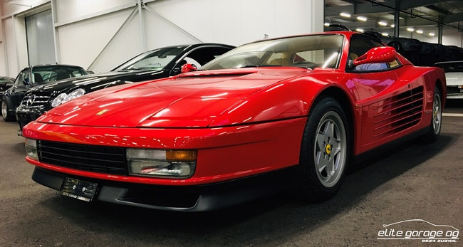 Ferrari Testarossa TESTAR./512 Testarossa 29'100 km CHF99'800 - acheter sur carforyou.ch - 1