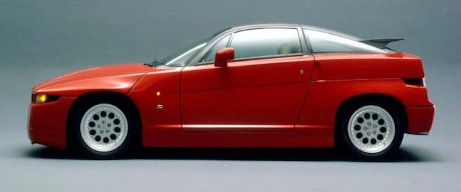 Alfa Romeo S.Z. Alfa SZ ES 30 Zagato 70'000 km 80'000 CHF - acheter sur carforyou.ch - 1
