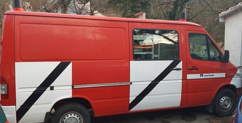 Mercedes-Benz Sprinter Belle affaire Bus pompiers Mercedes Sprinter 316 CDI Automat 35'000 km 5'900 CHF - kaufen auf carforyou.ch - 1