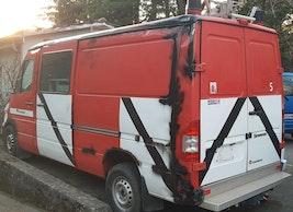 Mercedes-Benz Sprinter Belle affaire Bus pompiers Mercedes Sprinter 316 CDI Automat 35'000 km 5'900 CHF - kaufen auf carforyou.ch - 2