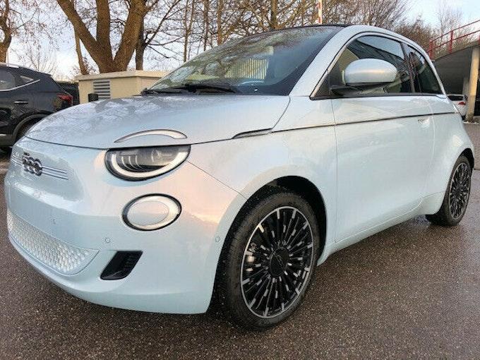"""Fiat 500 e Cabrio """"La Prima"""" 1'700 km 34'850 CHF - acquistare su carforyou.ch - 1"""