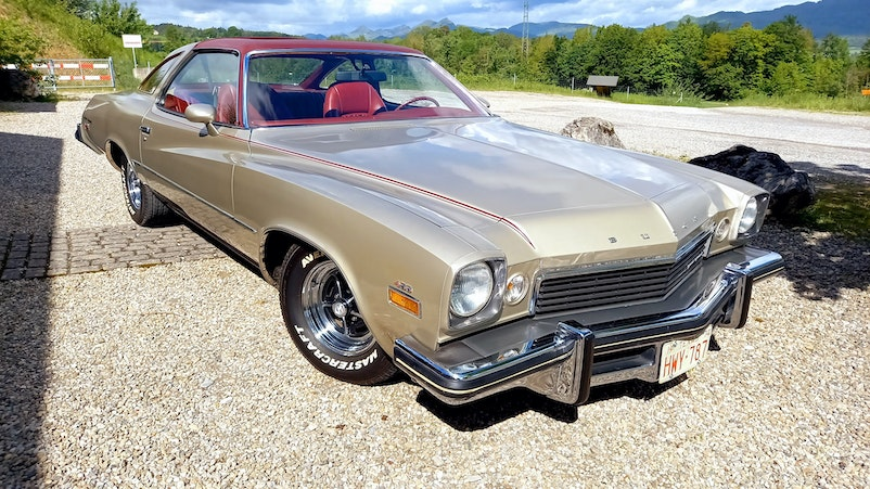 Buick Century GS455 Luxus Sun Coupe 1974 35'000 km CHF17'500 - buy on carforyou.ch - 1