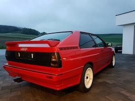 Audi Coupé quattro Urquattro 20V RR rot Teilleder 190'000 km CHF126'200 - kaufen auf carforyou.ch - 2
