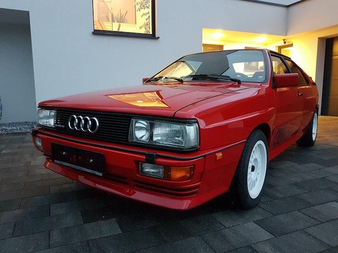 Audi Coupé quattro Urquattro 20V RR rot Teilleder 190'000 km CHF126'200 - kaufen auf carforyou.ch - 1