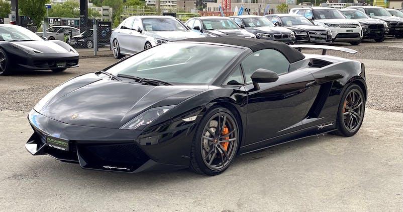 Lamborghini Gallardo LP570-4 Spyder Performante E-Gear 34'500 km CHF129'850 - acquistare su carforyou.ch - 1