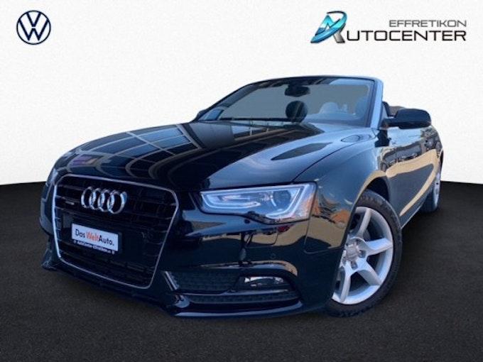 Audi A5 Cabrio 2.0 TFSI quatt 32'500 km 24'800 CHF - buy on carforyou.ch - 1