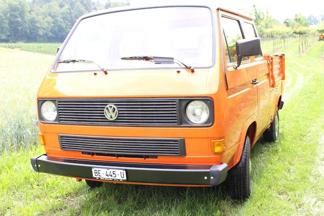 VW Typ 2 T3 DOKA 12'720 km CHF24'500 - acheter sur carforyou.ch - 1