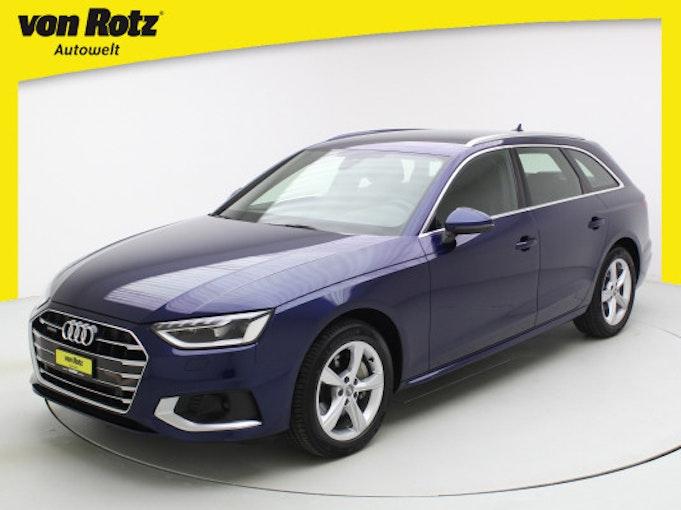 Audi A4 Avant 40 TDI advanc qu 23'700 km 42'750 CHF - buy on carforyou.ch - 1
