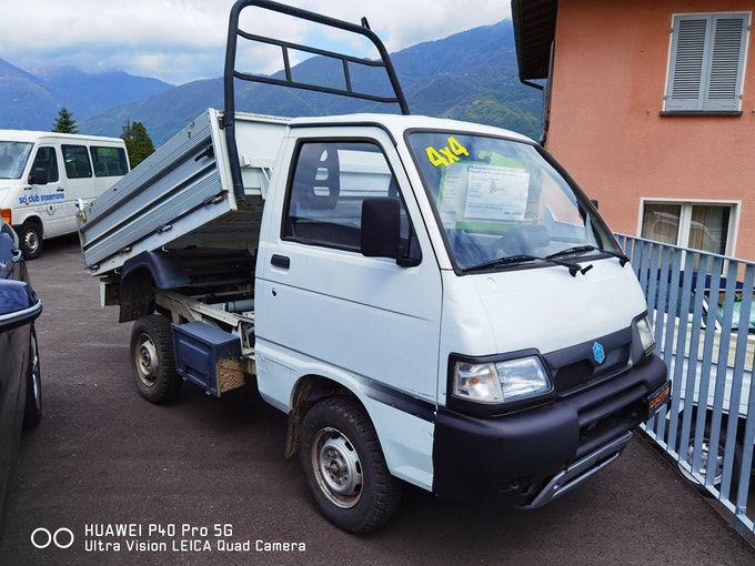 Piaggio Porter 1.3-16 4x4 76'000 km 15'900 CHF - kaufen auf carforyou.ch - 1